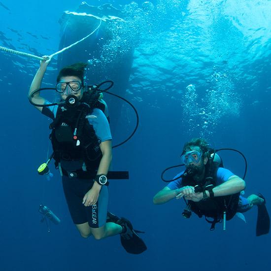 scuba-divers